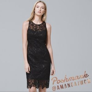 Stunning Black Lace Dress - New with tags!